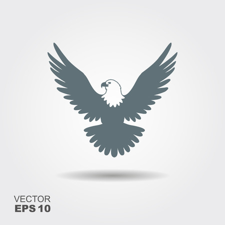 eagle icon illustration isolated vector sign symbol Vectores