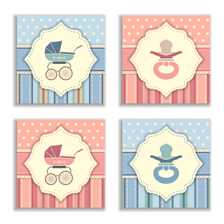 Set of baby shower invitation cards,birthday cards,poster,template,greeting cards
