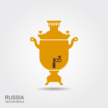 Samovar icon. Simple element illustration. samovar concept symbol design from Russia collection.