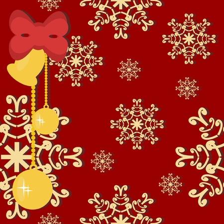 christmass: Fondo de Navidad y a�o nuevo Vectores