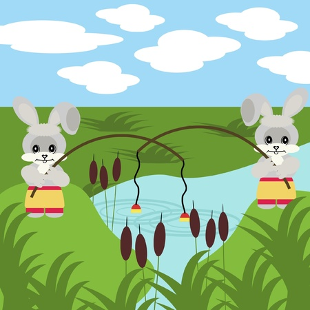 sumer: nice fishing hares with robs