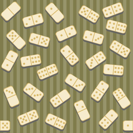 dominoes: seamless background with dominoes