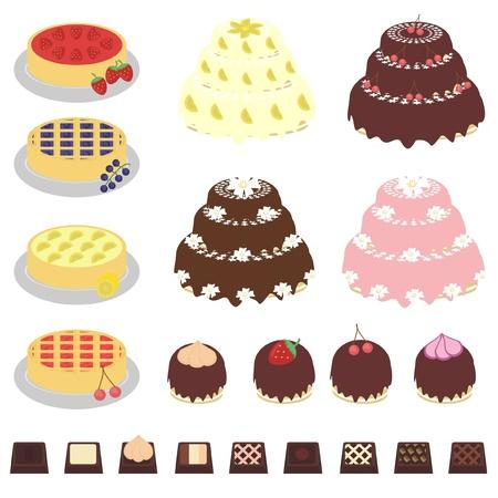 tarte aux cerises: d�finir avec les desserts