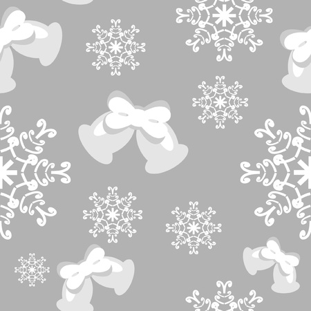 seamless new year and christmass background Vector