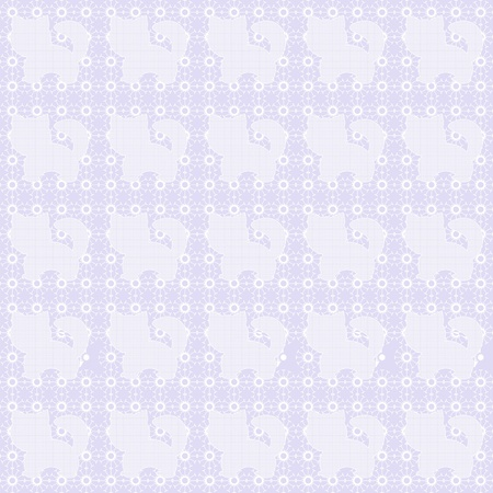 lace background with cats Stok Fotoğraf - 12747525