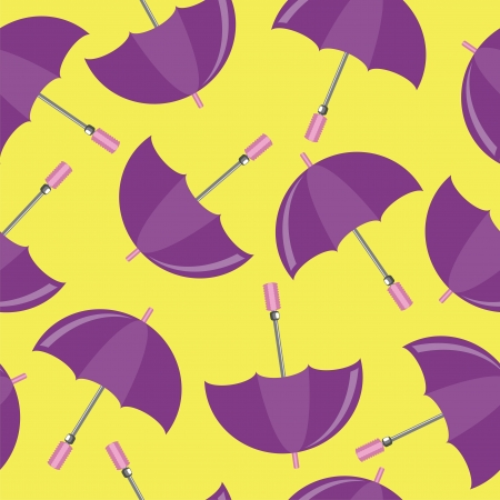 seamless background with umbrellas