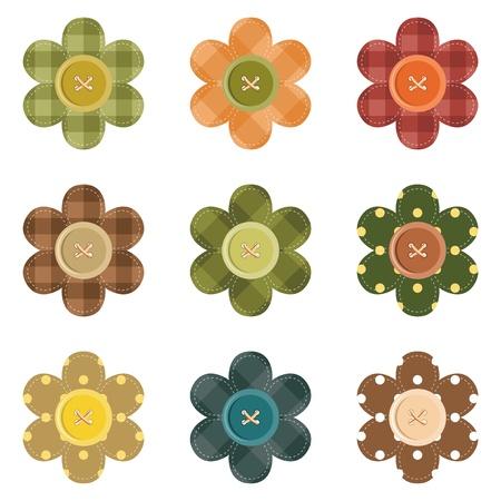 Кнопки: установить с цветами записки