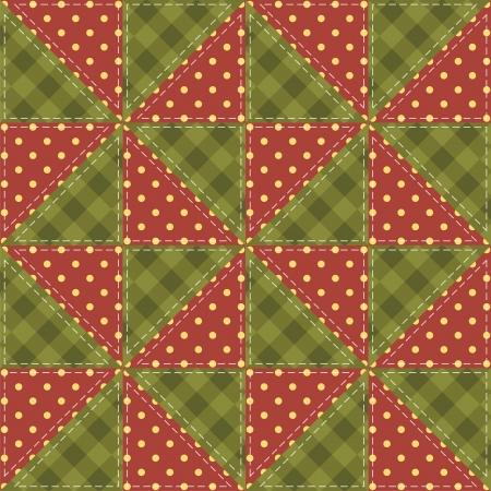 fond de patchwork avec différents modèles