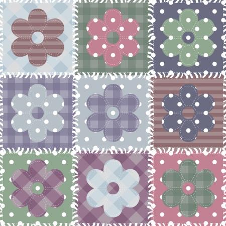 decorative accessories: set with scrapbook flowers