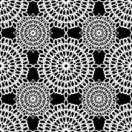 blankets: seamless lace background