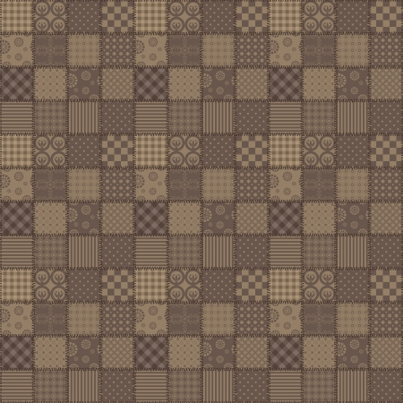 patchwork background with different patterns photo
