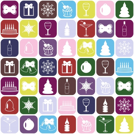 christmass: christmass and new year background Illustration
