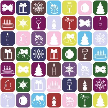 christmass: christmass y el fondo nuevo a�o