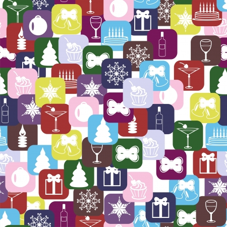 christmass and new year background Vector