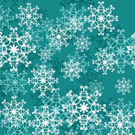 christmass: christmass y el fondo de a�o nuevo con copos de nieve