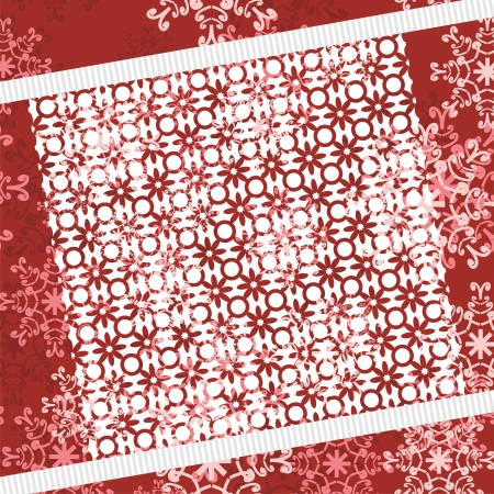 christmass: christmass and new year background with lace Illustration