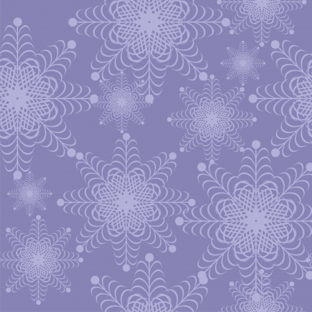 new year and christmas frame with snowflakes Stock Vector - 16503810