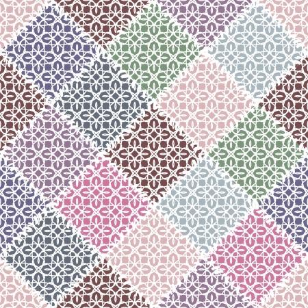 patchwork background Vector