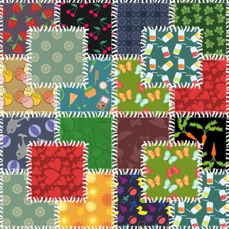 patchwork: patchwork Illustration