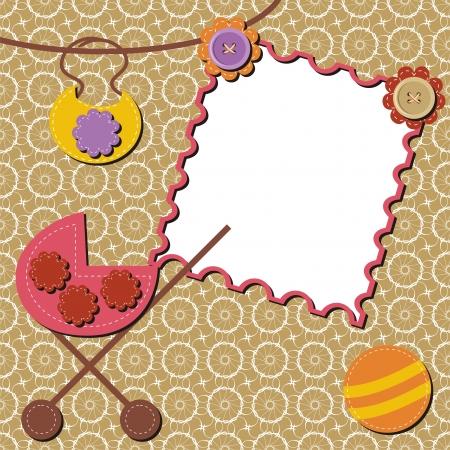 perambulator: background with perambulator