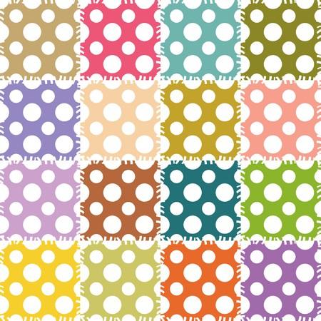 patchwork background: patchwork background with different patterns
