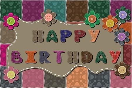 happy birthday dedication Foto de archivo - 98553534