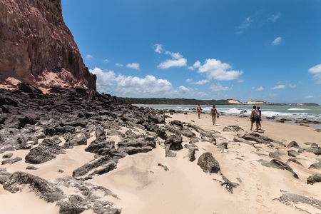 Dolphins Bay, located in Pipa district is a famous beach in Brazil