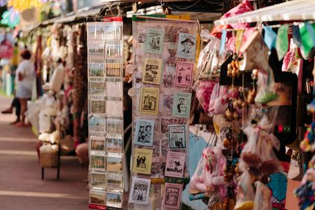poems: Tourists at the Craft Fair located on Jacare Beach, near Joao Pessoa