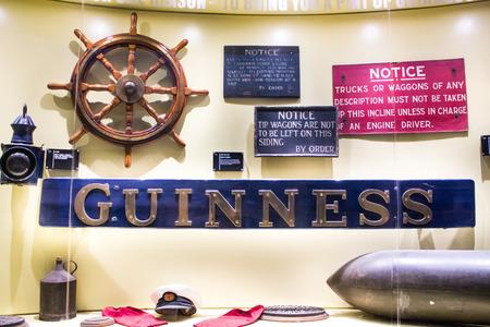 DUBLIN, IRELAND - FEBRUARY 7, 2017: Showcase marine equipments