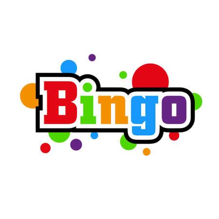 bingo text on white background