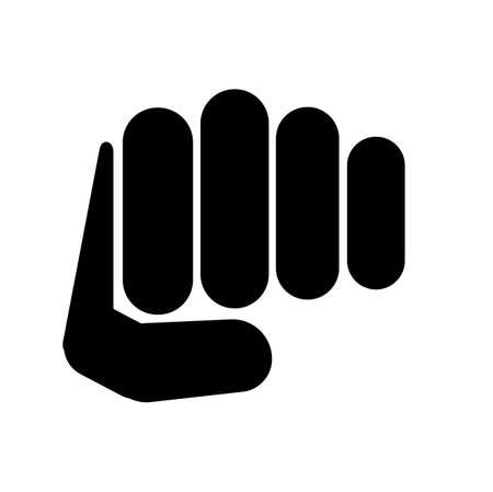 punch icon on white background