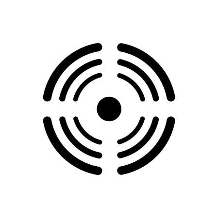 signal icon on white background 矢量图像
