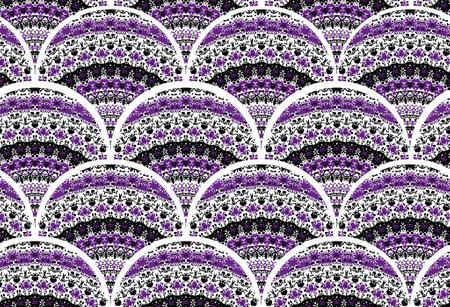 seamless pattern with circles 版權商用圖片 - 161336510