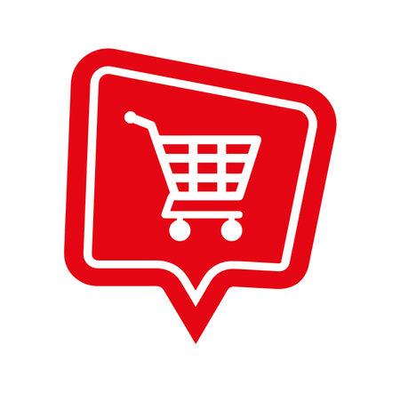 shopping cart sign. Vector icon. 版權商用圖片 - 161522322