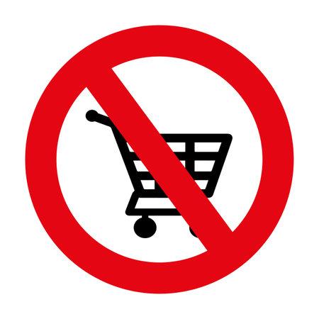 shopping cart sign. Vector icon. 版權商用圖片 - 161522325