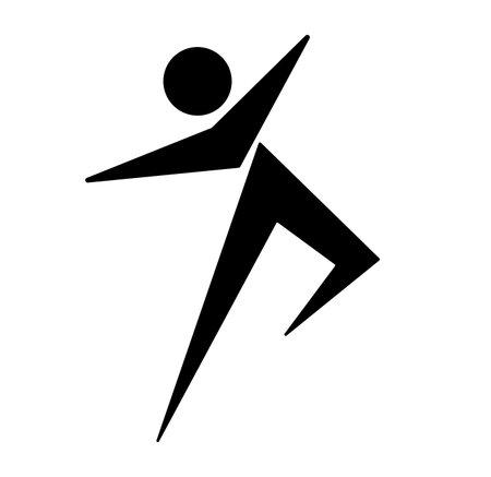 sport icon on white background