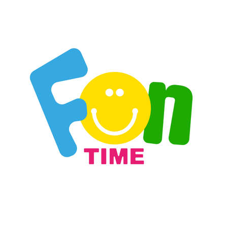 Fun time with creative font design.