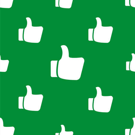 seamless pattern with like and dislike icon 向量圖像