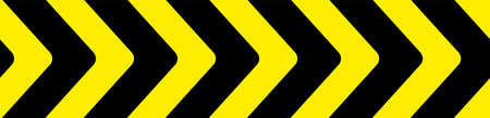 warning sign with red stripes on white background.