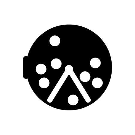 bingo icon on white background
