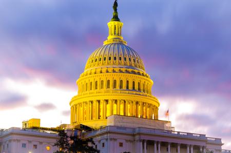 US Government Senate Congress Capitol Hill building Washington DC Stock Photo