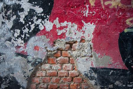 murals: brick wall with murals