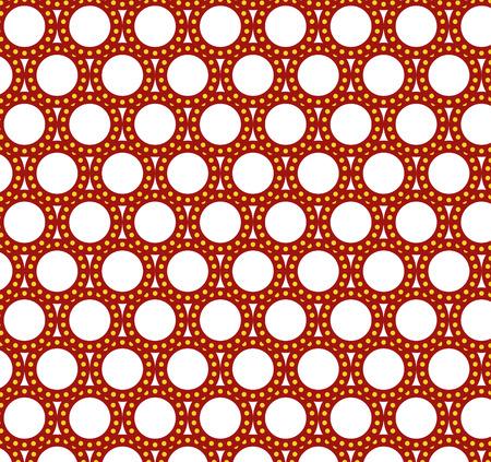 Geometrical pattern Ilustração