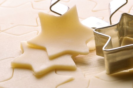 christmas tide: biscuits dough