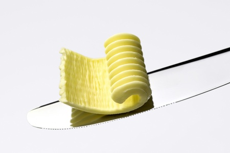 butter on a blade Stock Photo - 9245561