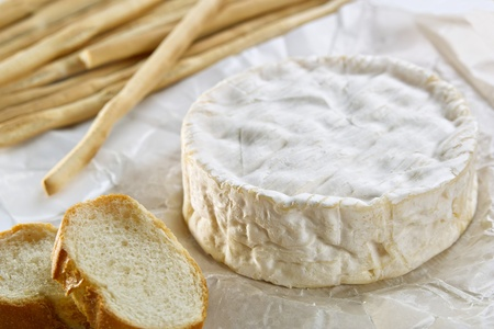 Camembert with  Grissini