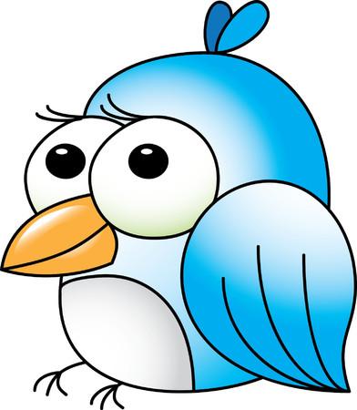 sparrow: Sparrow character vector illustration