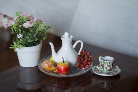 of miniature: Miniature dolls Stock Photo