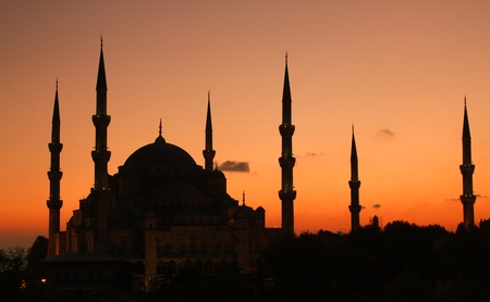 mehmed: Blue Mosque Istanbul - sunset