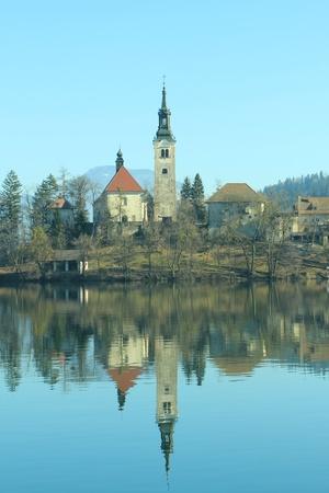 destination wedding: Bled,Beautiful Church Island